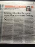 Write Away 2 September 2014