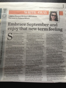 Write Away 2 September 2014