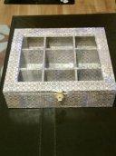 Tile effect tea box