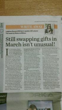 Leighton Buzzard Observer Tuesday December 30th