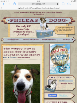 Monty - Phileas Dogg website 1 February 2015