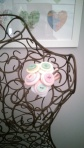 button corsage